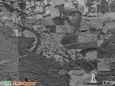 Reklaw satellite photo by USGS
