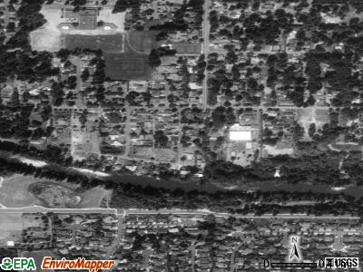 Rivergrove satellite photo by USGS