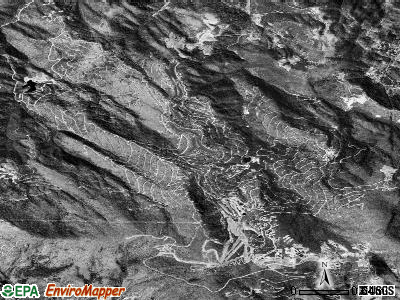 Beech Mountain satellite photo by USGS