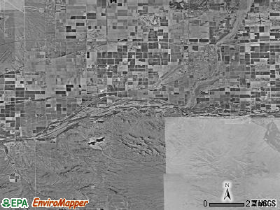 Goodyear satellite photo by USGS