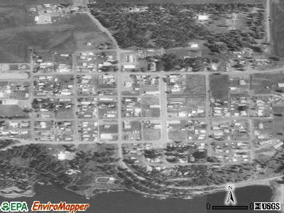 Winchester satellite photo by USGS