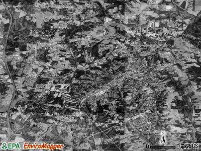 Mooresville satellite photo by USGS