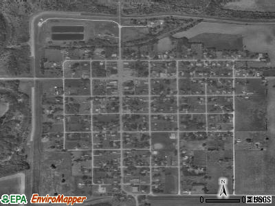 Elk City satellite photo by USGS