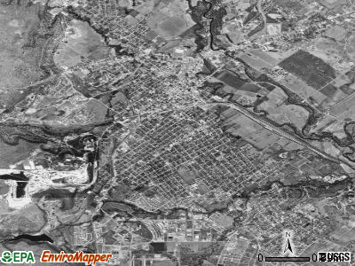 Brownwood satellite photo by USGS