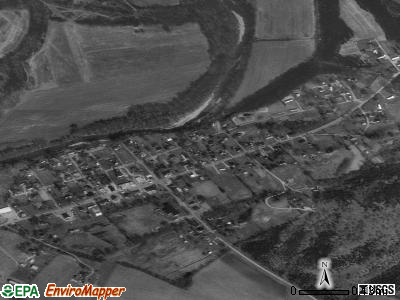 Bradfordsville satellite photo by USGS