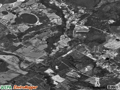 Willisburg satellite photo by USGS