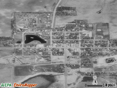 Cyrus satellite photo by USGS