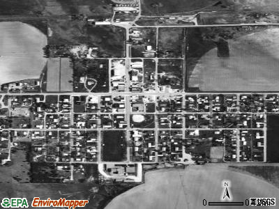 Stapleton satellite photo by USGS