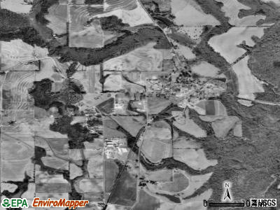 Goshen satellite photo by USGS
