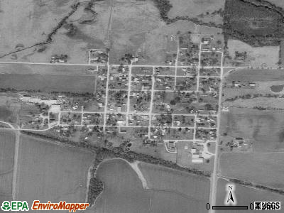 East Lynne satellite photo by USGS