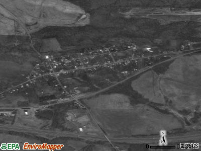 Morristown satellite photo by USGS