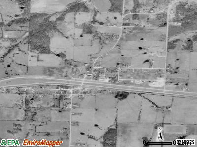 Diggins satellite photo by USGS