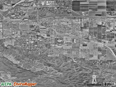 Loma Linda satellite photo by USGS