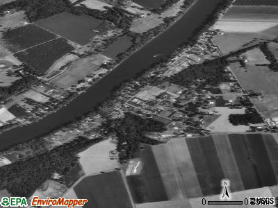 Butteville satellite photo by USGS
