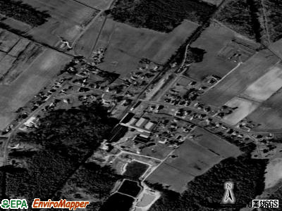Hallwood satellite photo by USGS