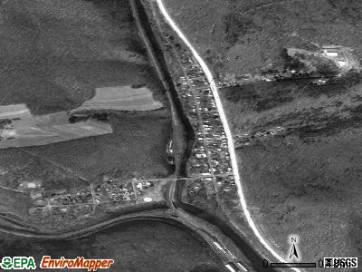 Port Clinton satellite photo by USGS