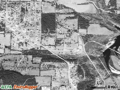 Lead Hill satellite photo by USGS