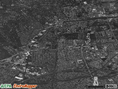 Syosset satellite photo by USGS