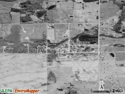 Prescott satellite photo by USGS