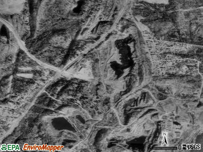 East Kingston satellite photo by USGS
