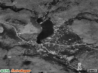 Bear Creek Village satellite photo by USGS