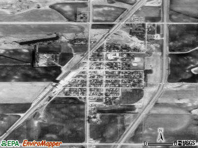 Nauvoo satellite photo by USGS
