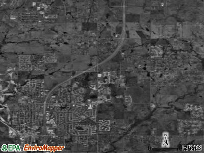 Owasso satellite photo by USGS