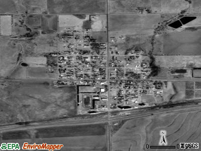Mullinville satellite photo by USGS