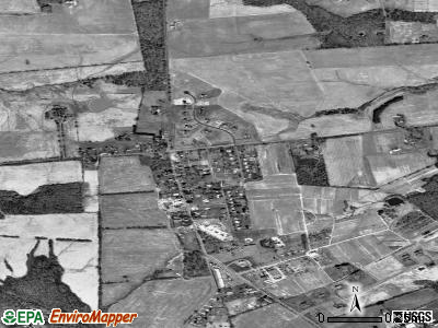 Laytonsville satellite photo by USGS