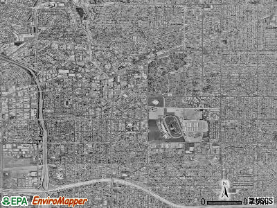 Inglewood satellite photo by USGS