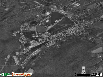 Fort Ritchie satellite photo by USGS