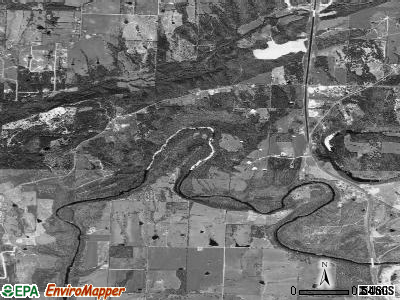 Twin Groves satellite photo by USGS