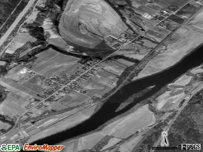 Westminster satellite photo by USGS