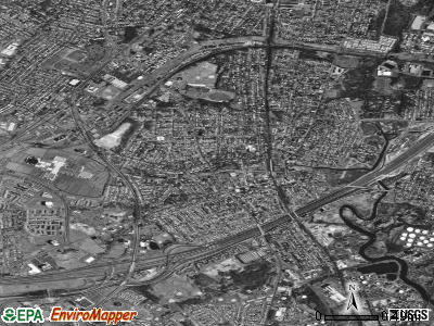 Woodbridge satellite photo by USGS