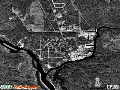 Rosemont satellite photo by USGS