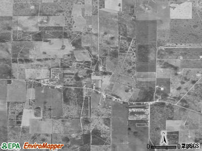 Delway satellite photo by USGS