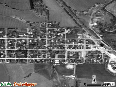 Staplehurst satellite photo by USGS