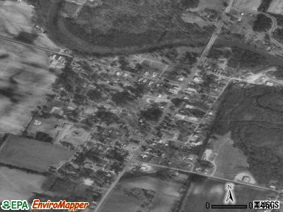 Pollocksville satellite photo by USGS