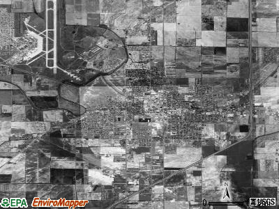 Blytheville satellite photo by USGS