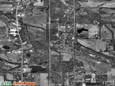 Whiteash satellite photo by USGS