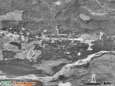 Ashford satellite photo by USGS