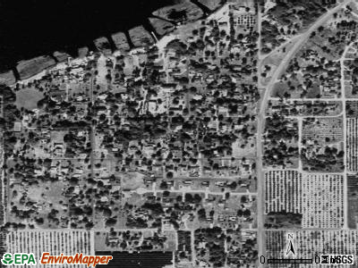 Hillcrest Heights satellite photo by USGS