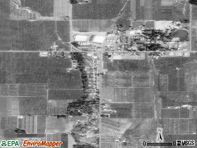 Parkdale satellite photo by USGS