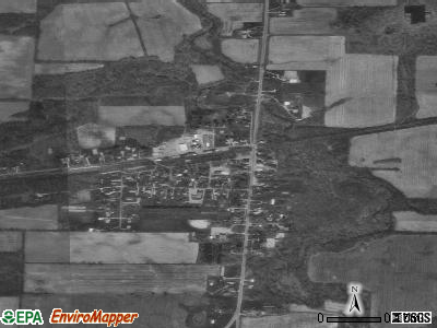Kipton satellite photo by USGS