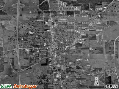 Angleton satellite photo by USGS