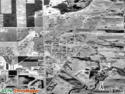 Bowlus satellite photo by USGS