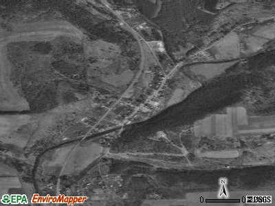 Salladasburg satellite photo by USGS