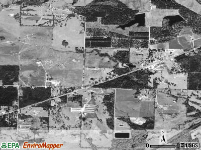 Perrytown satellite photo by USGS