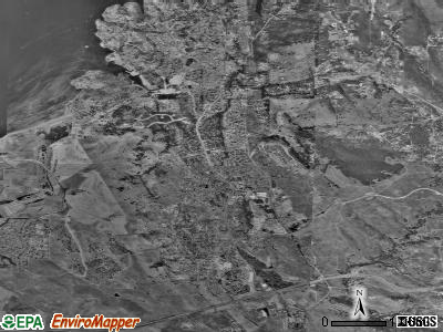 El Dorado Hills satellite photo by USGS