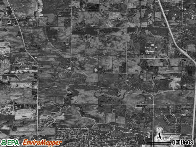 Old Mill Creek satellite photo by USGS